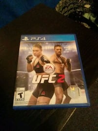 EA Sports UFC 2 PS4 game case Jurupa Valley
