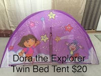 Dora the Explorer Twin Bed Tent Winnipeg, R2P 2Z6