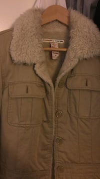 A&F brown and grey button up jacket Suisun City, 94585
