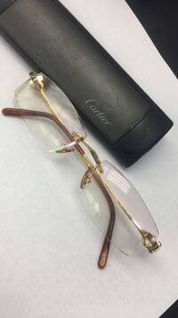 MAKE reasonable OFFER..Cartier glasses 18k *authentic. can verify