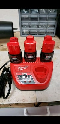 Milwaukee M12 batteries and charger  Mountain View, 94043
