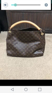 brown Louis Vuitton leather handbag San Diego, 92105