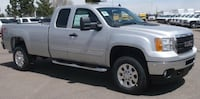 2011 GMC2500 HD ext cab pickup truck