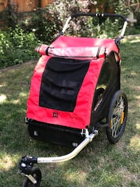 Used Burley Bee bike trailer that converts to a jogging stroller Centennial, 80122