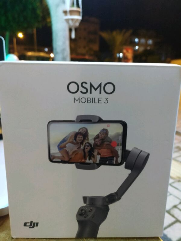 Gimbal osmo 3 00a2aa81-6962-4240-bf05-8c6d7c7195a6