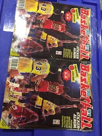 Basketball old activity/poster magazines Richmond Hill, L4S 1R6