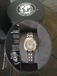NEW Citizen EW1598-54D Paladion Diamond Eco-Drive Watch Toronto