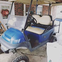 blue and white golf cart Piedmont, 29673