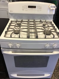 GE profile almond color gas stove 10% off North Las Vegas, 89032