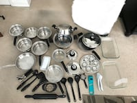 31 piece set. 7ply stainless steel induction cookware  Atascadero, 93422