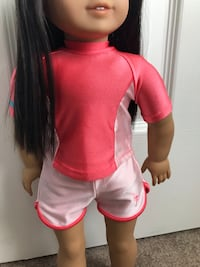 American girl doll swimsuit!
