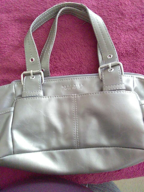 876fc7fa6485 Used gray leather Kenneth Cole Reaction tote bag for sale in Fredericksburg  - letgo