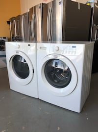 Frigidaire affinity front loading washer and gas dryer set!