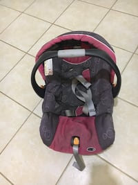 baby's red and black car seat carrier Germantown, 20874