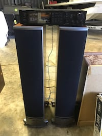 Polk Audio Speakers and Onkyo Receiver.  Excellent condition. Orlando, 32835