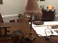 2 gold small lamps Plano, 75023