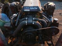 black and gray boat engine 5.7 Washington, 20010