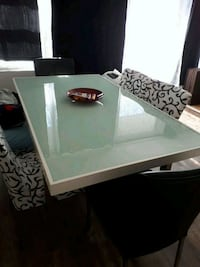 Dinning glass table &chairs200$ or best ofer Hamilton, L8L 1P2