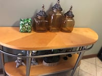two brown wooden side tables Cumming, 30040