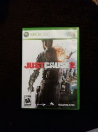 Xbox 360 just cause 2, $3