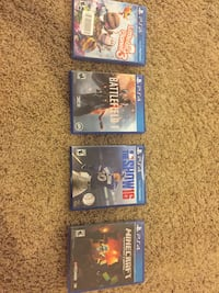 PS4 games Maumee, 43537