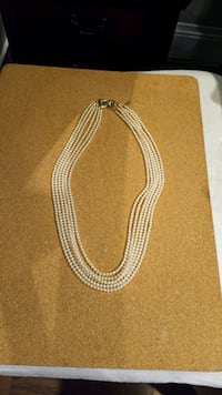 Classic Faux Pearl Necklace Vancouver, V6E 4M8