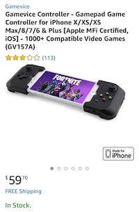 Game controller for iPhones! Henderson, 89002