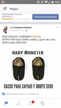 Sacos Baby Monsters