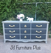 Solid Wood Refinished French Provincial Dresser  Toronto