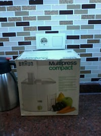BRAUN KATI MEYVE MULTİ PRESS