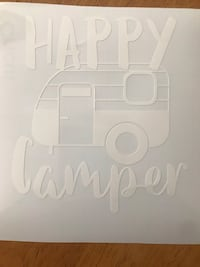 Happy camper decal Langley, V3A 4H9