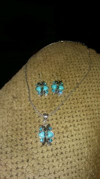 Butterfly turquoise jewelry set  Greeneville, 37743
