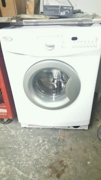 white front-load clothes washer Toronto, M6N