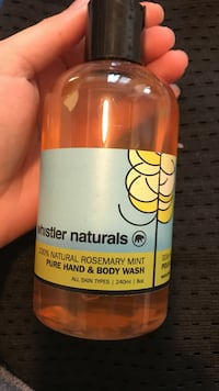 Whistler Naturals pure hand and body wash bottle Toronto, M3M 2G2