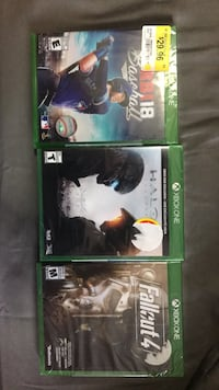 Xbox 1 brand new games sealed never used  Mississauga