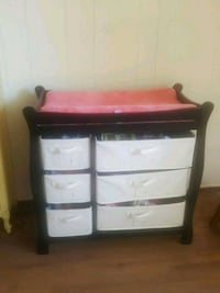 Badger changing table  Fresno