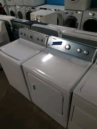 MAYTAG TOP LOAD WASHER AND DRYER SET WORKING PERFECTLY