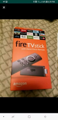 Amazon Fire TV stick box Sterling