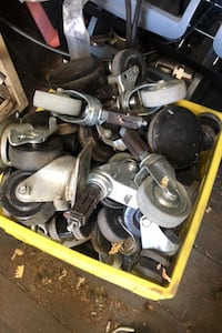 Casters for sale five dollars each Sherwood Park, T8A 1G4
