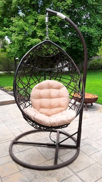 PATIO EGG CHAIR..FIRM ON OFFER