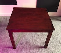 Wooden side table or coffee table.  Philadelphia, 19130