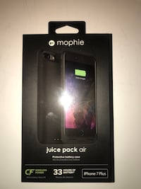 MOPHIE IPHONE 7+ CHARGING CASE BRAND NEW  Vaughan, L4L 9L2