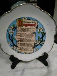 Vintage Korean Plate with the Legand of Dogwood  North Charleston, 29405