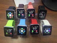 six assorted color smart watches Calgary, T2P 3N8
