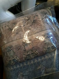 brown and gray floral bed sheet Toronto, M6G