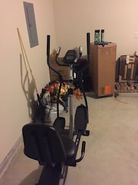 black and gray elliptical trainer Cypress, 77429