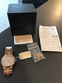 Women's Rose Gold Michael Kors Watch Vancouver
