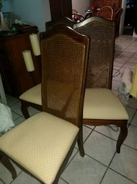 6 Dining room chairs with one having arm rest Columbus, 31904