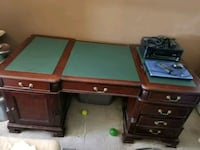 two brown wooden 2-drawer chests North Miami, 33181