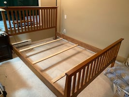 Queen Size Bed Frame- Made in Canada